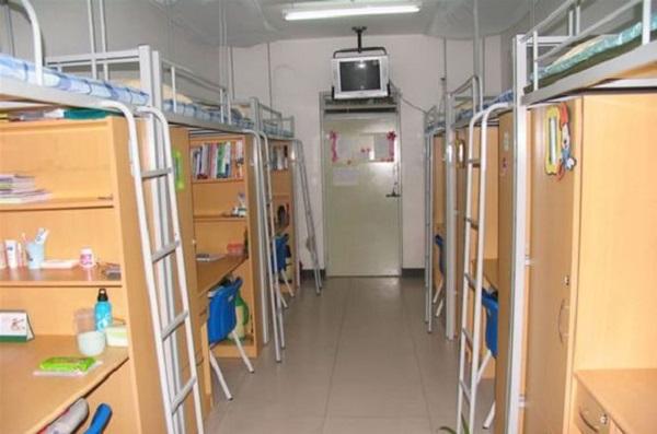 天津宿舍职业宿舍条件男生女生大学图吊篮cad图图片