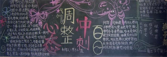 高三高考励志黑板报_关于高考励志的黑板报图片图片