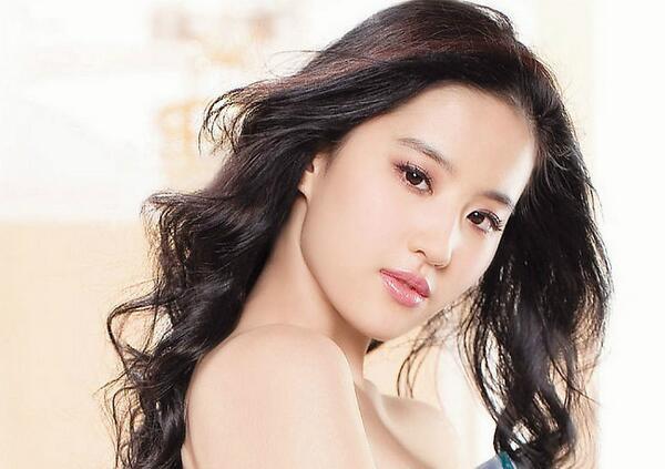 亚洲明星校花排行榜:刘亦菲