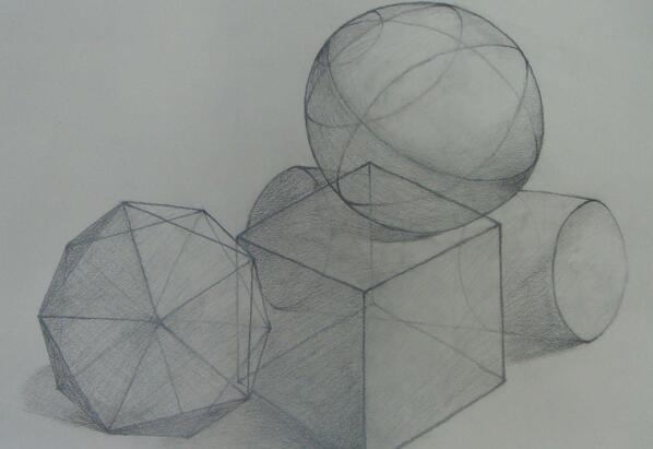 简单素��f���;�&_简单素描画图片大全静物素描_高三网