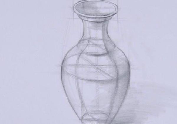 素描罐子的画法解析图