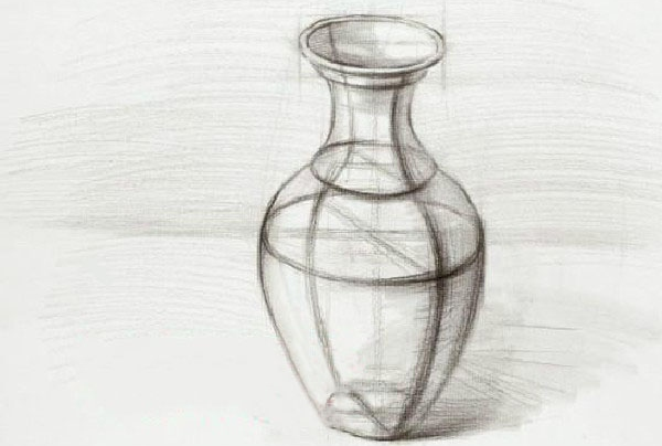 瓷瓶结构素描完成图。   以上是素描罐子的画法解析图的全部内容,美术生要想学好素描就不能心急,一步一步按照标准和规范进行绘画,画好每一个细节,尽量让自己的每一个作品都有意义。 高三网小编推荐你继续浏览: