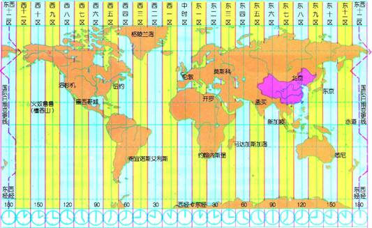 [地方时的计算方法]高中地理地方时计算方法
