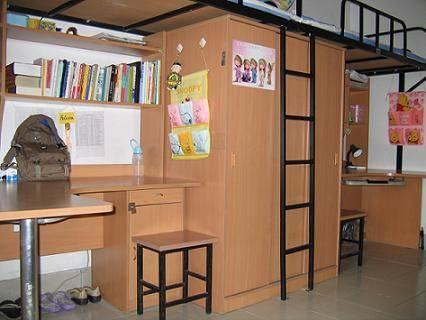 清华大学拥有华北地区条件最好的大学生宿舍群——紫荆公寓.图片
