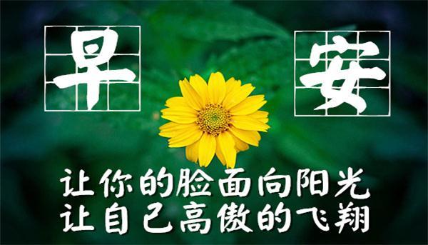 2017早安心语正能量图片