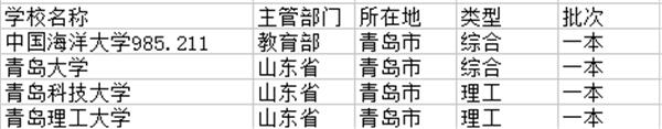 青島市一本大學