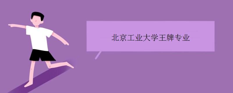 北京工业大学王牌专业