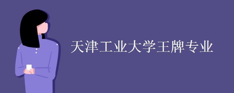 天津工业大学王牌专业