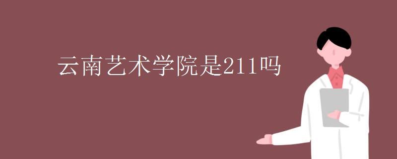 云南艺术学院是211吗