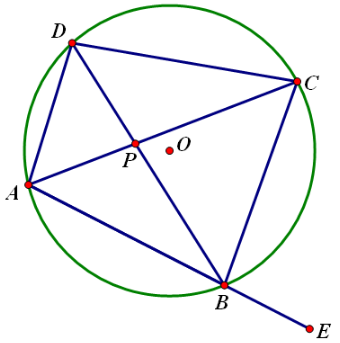 高一数学期末考点:四点共圆的判定方法