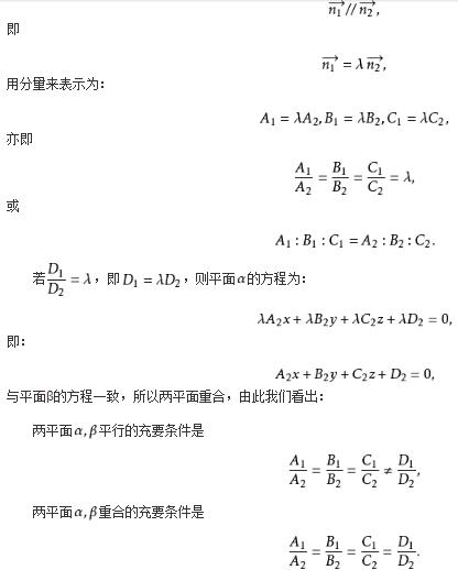 高一数学重点:平面与平面平行的判定
