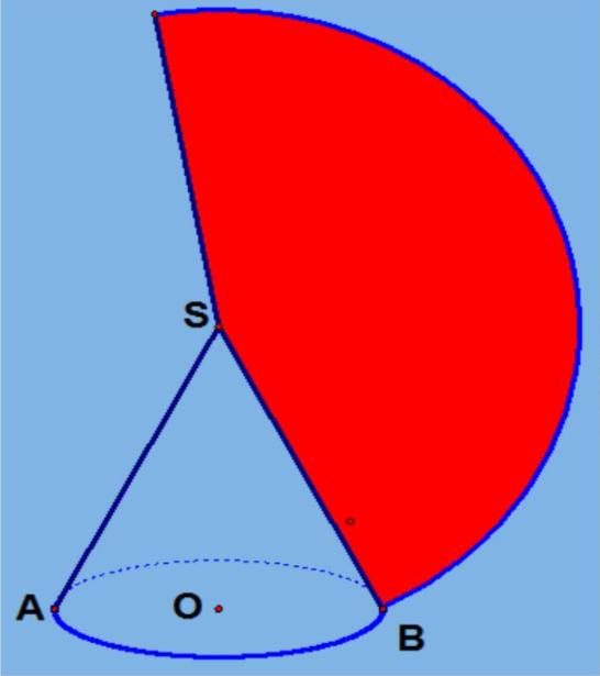 高一数学考点:圆锥的体积公式