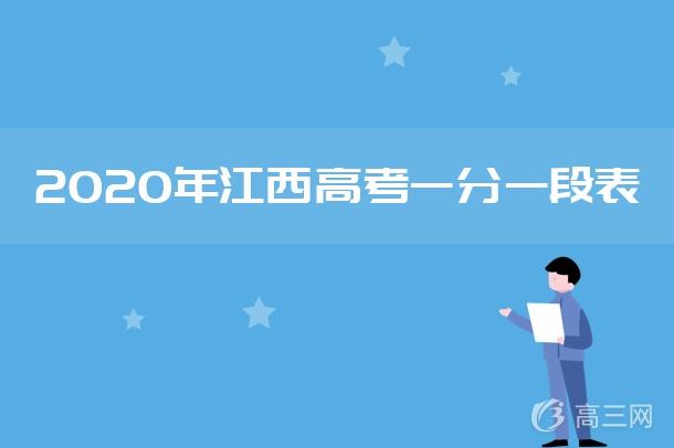 2020年江西高考一分一段表.jpg