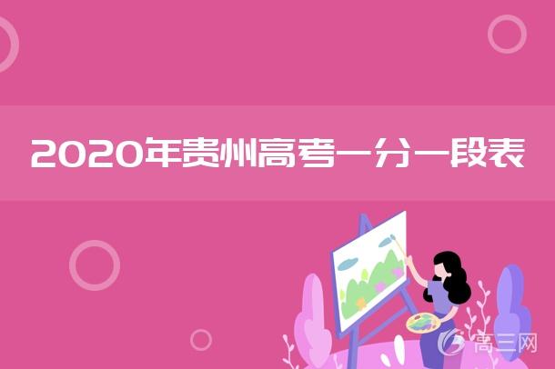 2020年贵州高考一分一段表.jpg