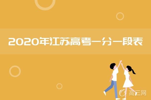 2020江苏高考一分一段表 第二阶段成绩排名汇总