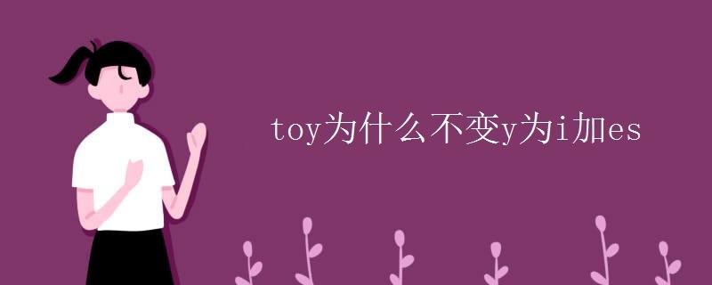 toy为什么不变y为i加es