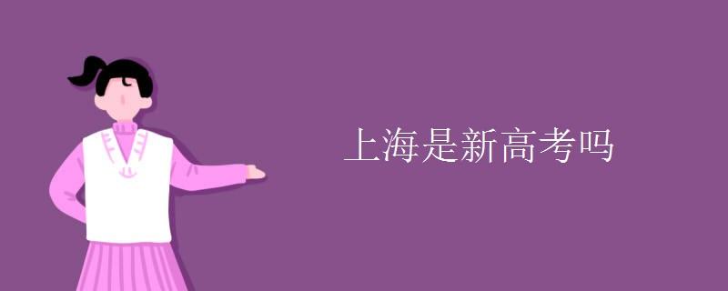 上海是新高考吗