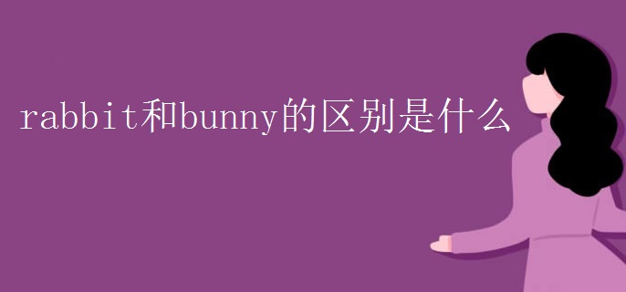 rabbit和bunny的区别是什么.jpg