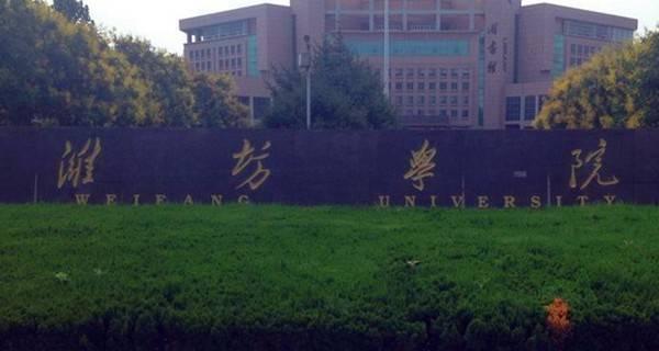 潍坊学院专业排名 最好的专业有哪些