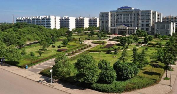 湖南科技大学潇湘学院 校园一景